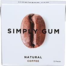 product image for Simplygum Gum Coffee Natural, 15 ct