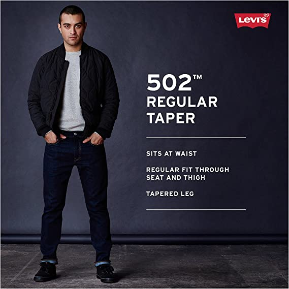 Levis 502 Regular Taper Fit Jean Jeans para Hombre