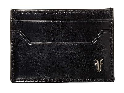 Frye Austin Card Case (Black) Handbags