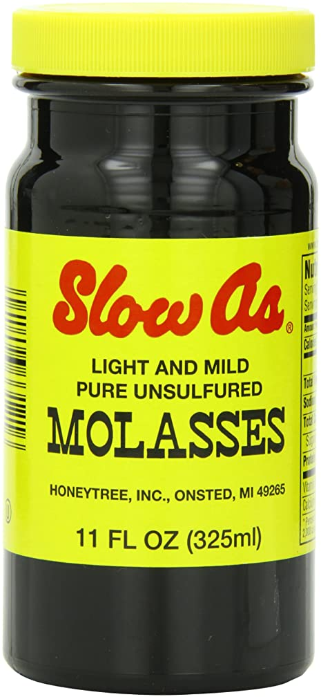 Slow As Molasses, Light and Mild, 11-Ounce Containers (Pack of 6)