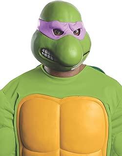 Nickelodeon Teenage Mutant Ninja Turtles Adult Donatello 3/4 Mask, Green, One Size