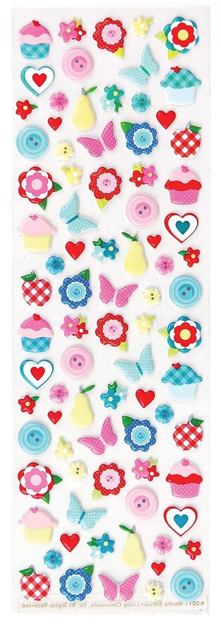 Martha Stewart Crafts Stickers, Stitched Foam Icons