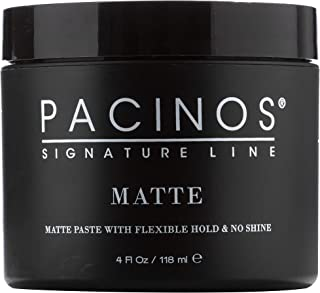 Pacinos Matte, Hair Paste with Flexible Hold & No Shine, Sculpting & Styling Wax for All Hair Types, Add Long Lasting Defi...