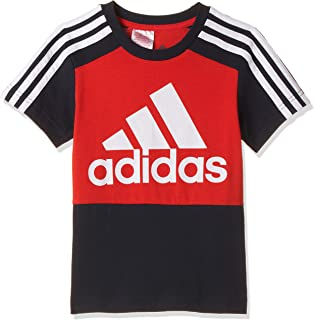 adidas boys ADIDAS BOYS ESSENTIALS COLORBLOCK TEE T-Shirt