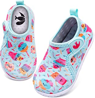FEETCITY Baby Boys Girls Water Sport Shoes Barefoot Kids Aqua Socks Quick-Dry Beach Swim Pool Shoes