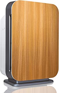 Alen BreatheSmart 75i Large Room Air Purifier, 1300 Sqft. Coverage Area, Antimicrobial True HEPA Filter, for Smoke, VOC's, Cooking Odors, Chemicals, Dust, Pollen, Dander and Fur, in Oak