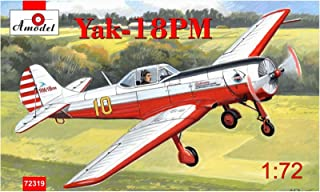 Yakovlev Yak-18PM Aerobatic Aircraft Plastic Model Kit 1/72 AMODEL 72319