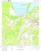 YellowMaps Moncks Corner SC topo map, 1:24000 Scale, 7.5 X 7.5 Minute, Historical, 1958, Updated 1979, 26.8 x 22 in