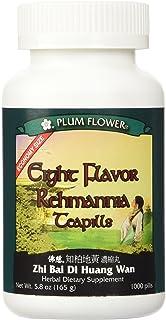 Eight Flavor Rehmannia Teapills -- Economy Size -- Plum Flower, 1000 Pills