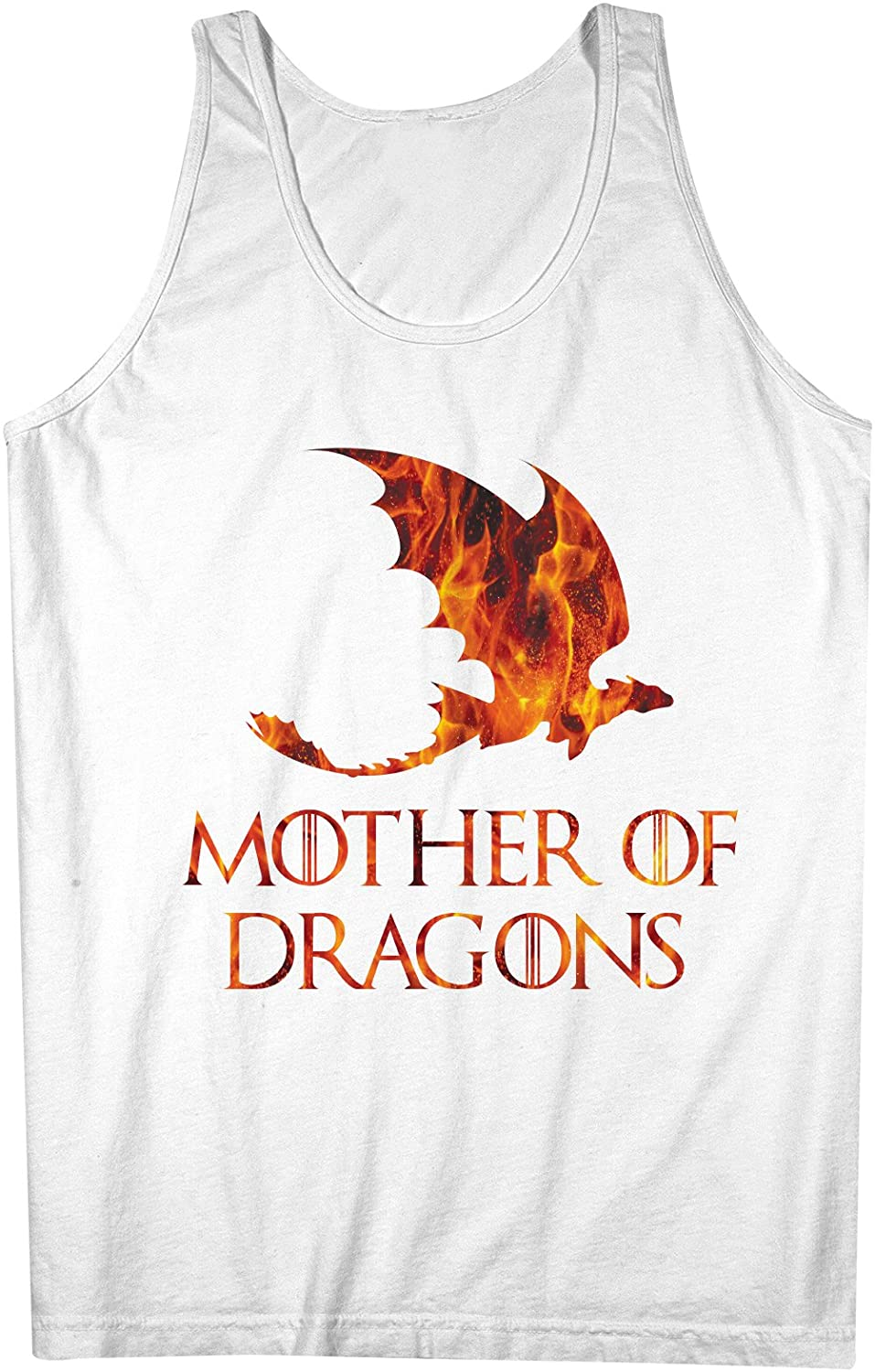 Mother Of Dragons Fire 男性用 Tank Top Sleeveless Shirt