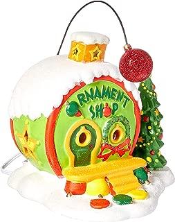 grinch christmas village sets