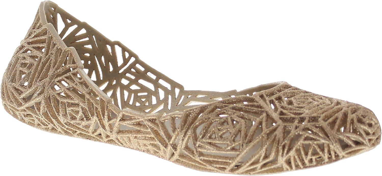 Glaze Women's Flat Heel Summer Beach Jelly shoes Alaska-10
