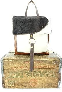 Backpack Bag in Cowhide Leather