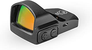 TRUGLO TRU-TEC Micro Red Dot Sight Open Reflex Optic for Rifles, Shotguns and Pistols
