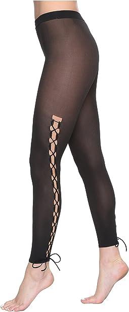 Lace-Up Leggings