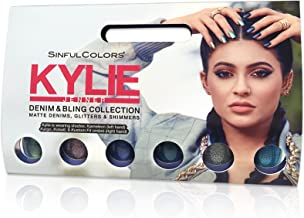 SinfulColors Kylie Jenner Nail Polish Set Sinful Colors, 6-Pack (Denim and Bling Collection)