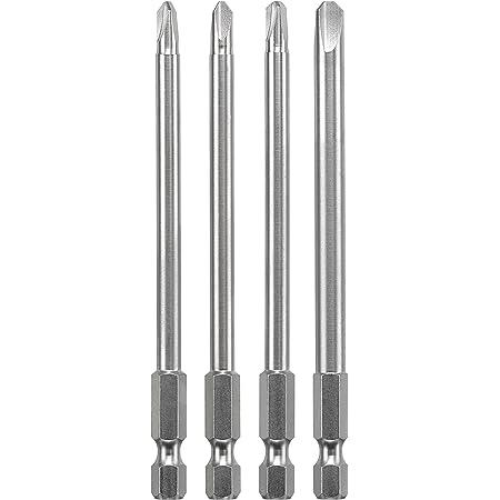 Tri-Wing 2 2,8 cm s - Puntas de destornillador Acero kwb 128740 punta de destornillador 3 pieza 1//4 s 25,4//4 mm 1 3 pieza