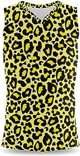 Rainbow Rules Bright Leopard Print Mens Sleeveless Tank Top