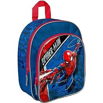Rucksack mit Vortasche, Marvels Spider-Man, für Schule und Freizeit, ca. 31 x 25 x 10 cm