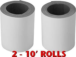 "EternaBond 2 Pack White Mobile Home RV Rubber Roof Repair 4"" x 10'. 20 feet Total"