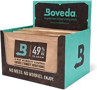 Boveda 音楽 49-RH 2-ウェイ 湿度 コントロール 交換 使用 ファブリック ホルダー用 サイズ 70 フレット ボウド ウッド インストゥルメント 防止 クラッキング と ワーピング 12-カウント リテール カートン
