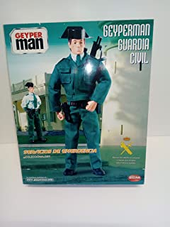 Bizak geyperman Guardia Civil