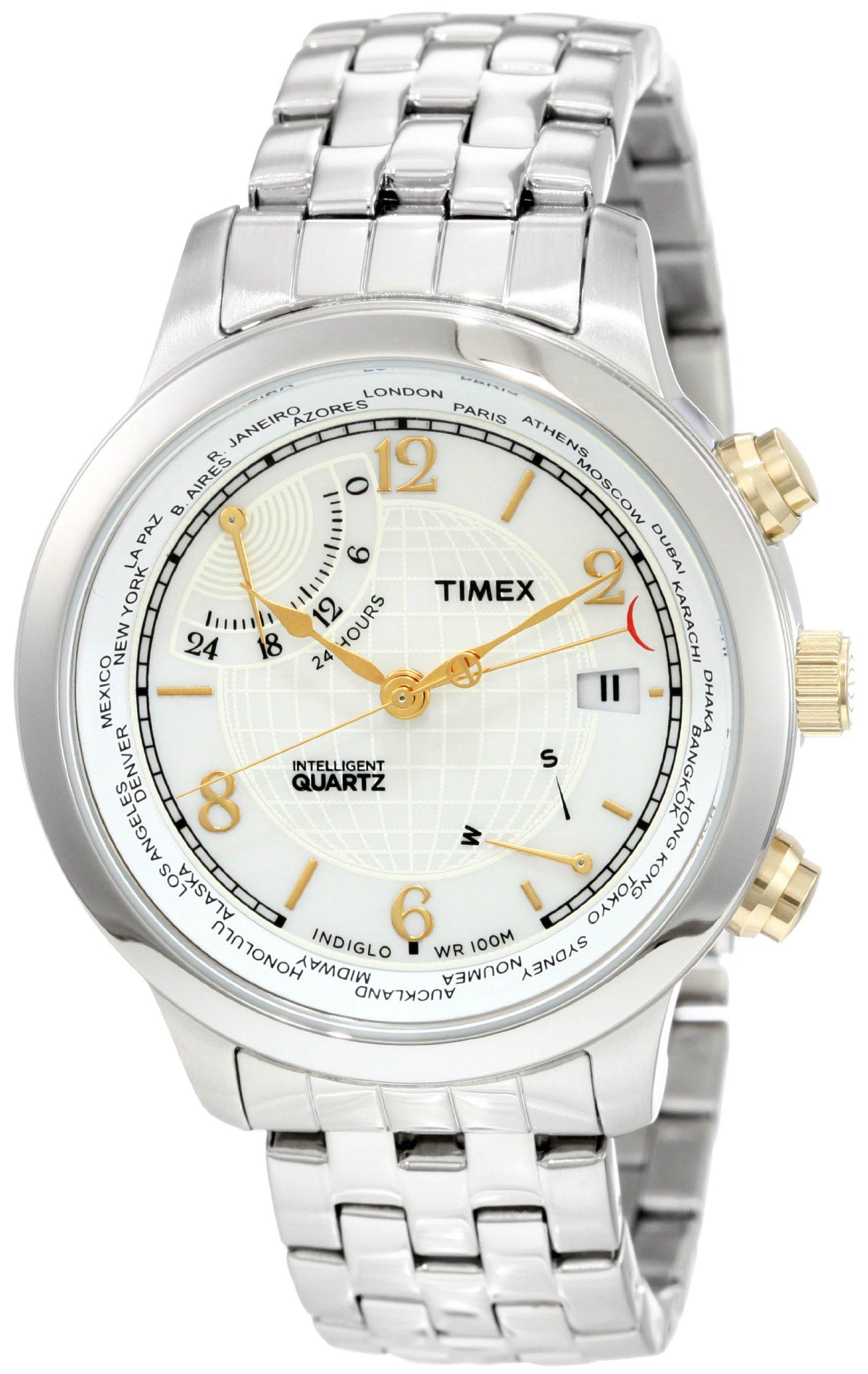 Timex Intelligent Traveller Stainless Bracelet
