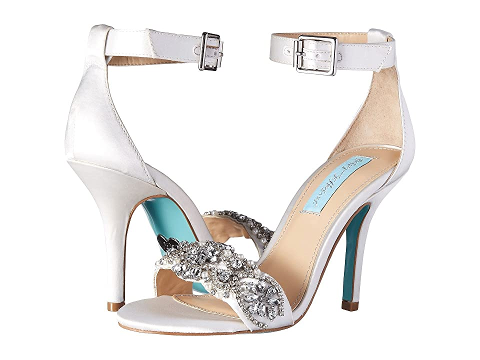 Blue by Betsey Johnson Gina (Ivory Satin) Women