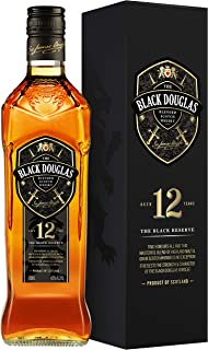 Black Douglas 12 Years Old Blended Scotch Whisky, 700 ml