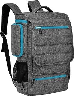 18.4 Inch Laptop Backpack,BRINCH Water Resistant Large Travel Backpack for Men Luggage Knapsack Computer Rucksack Hiking Bag College Backpack Fits 18-18.4 Inch Laptop Notebook Computer, Grey-Blue