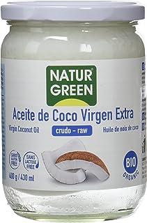 comprar comparacion NaturGreen Aceite de coco Virgen Bio, Primera presión en frío - 400 gr.