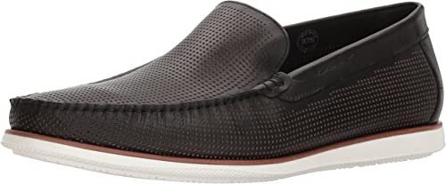 Kenneth Cole New York Men's Cyrus Slip ON Loafer, negro, 9 M US