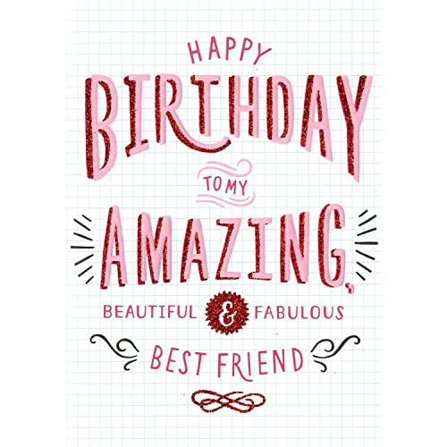 Amazing Best Friend Birthday Card Second Nature More Than Words Cards