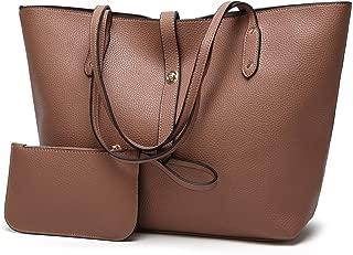 Leather New Women's Handbags Fashion Shoulder Wallet Daughter Package Women's Bags Women's Leather Handbags Waterproof (Color : Purple, Size : M)
