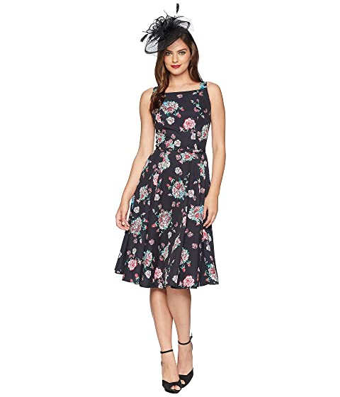 a5745fbfefb Unique Vintage Harriet Swing Dress at Zappos.com