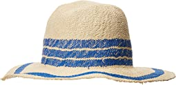 San Diego Hat Company PBF7311OS Fedora w/ Pop Color Stripes