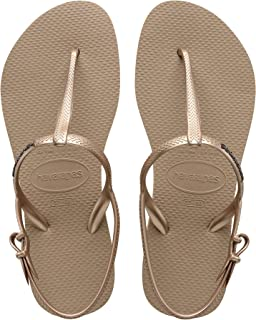 Havaianas Women's Freedom SL Flip Flop Sandals, Around Ankle Straps, Roman Sandal