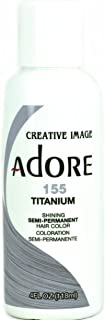 Adore Semi-Permanent Hair Color (#155 Titanium)
