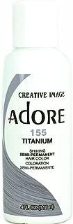 Adore Semi-Permanent Hair Color (#155 Titanium)