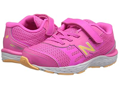 New Balance Kids IA680v5 (Infant/Toddler) (Light Peony/Light Mango) Girls Shoes