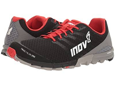 inov-8 TrailTalon 250 (Black/Red/Grey) Men