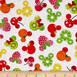 Best mickey fruit fabric Reviews