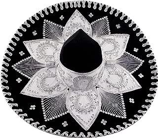 MoreFiesta Mexican Adult Mariachi Sombrero Hat
