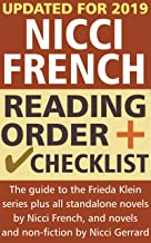 Nicci French Reading Order and Checklist: The complete guide to the Frieda Klein series and all standalone novels by Nicci French, plus novels and non-fiction by Nicci Gerrard