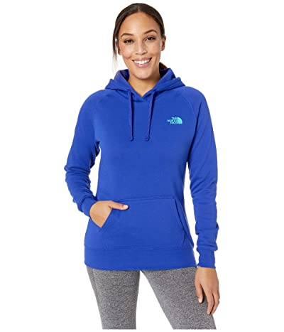 The North Face Red Box Pullover Hoodie (Aztec Blue/Ion Blue) Women