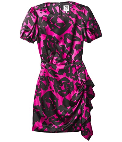 Milly Minis Esme Floral Mosaic Print Dress (Big Kids) Girl