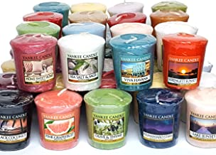 40candele originali Yankee Candle, con fragranze assortite, tratte dalla gamma classica