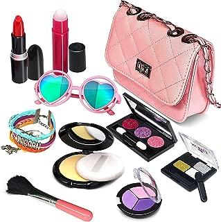 Pretend Makeup Girls Cosmetic Toys - Fake Make Up Kit Pretend Make up Set for Kids Girl Children Princess Play Makeup Game Christmas Birthday Gifts Cosmetic Toys for 2 3 4 5 6 Years Old Girls Gift