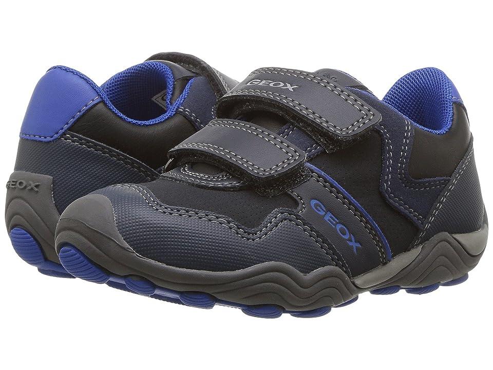Geox Kids Jr Arno 13 (Toddler/Little Kid) (Dark Navy/Royal) Boys Shoes