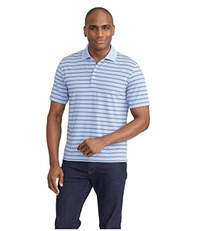 UNTUCKit The Luxe Performance Polo (Light Blue) Men